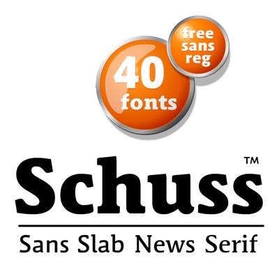 Семейство шрифтов Schuss