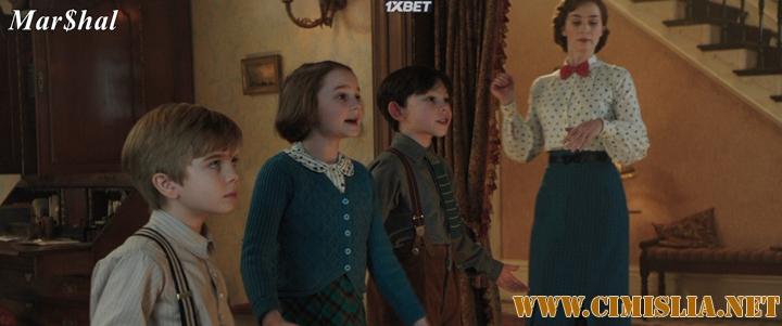 Мэри Поппинс возвращается / Mary Poppins Returns [2018 / HDRip]