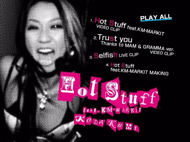 20190314.0218.08 Koda Kumi - Hot Stuff (DVD) menu.png
