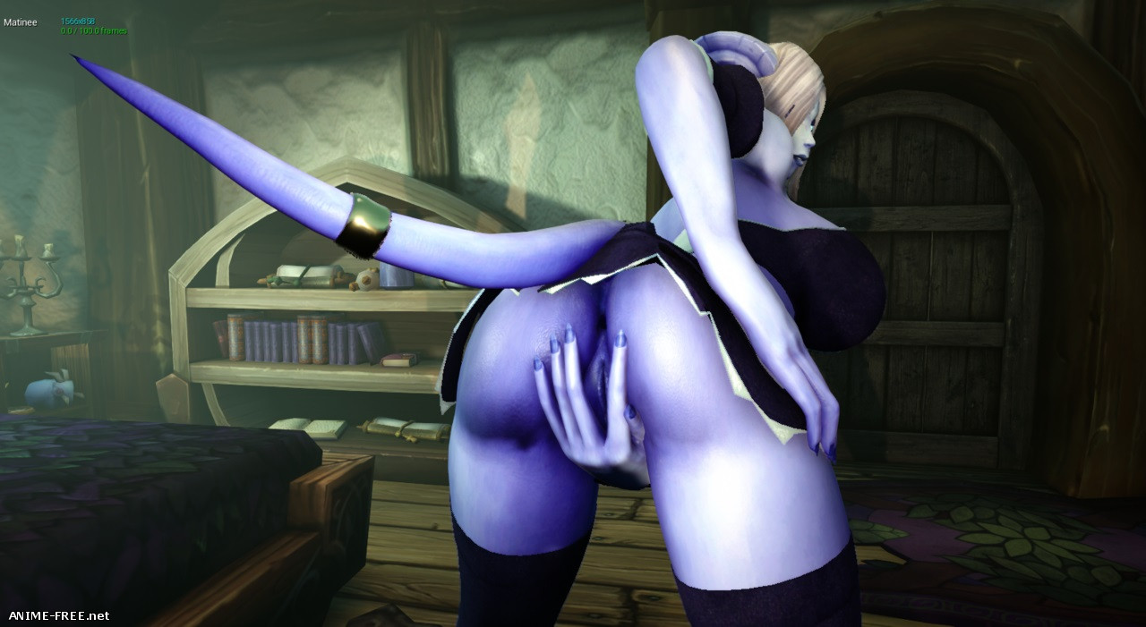 Lewd Red Riding Hoof - Tails of Azeroth Series + Joyous Reunion + XXXmas [2018] [Uncen] [3D, RPG, Animation] [ENG,RUS] H-Game