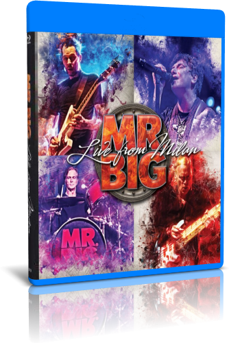Mr  Big - Live From Milan (2018, Blu-ray)
