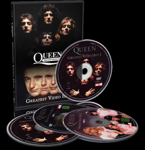 Queen - Greatest Video Hits 1-2 (2002-2003, 2хDVD5, 2xDVD9)