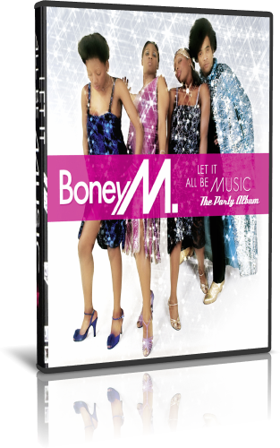 Boney M  - Let It All Be Music (2019, DVD5)