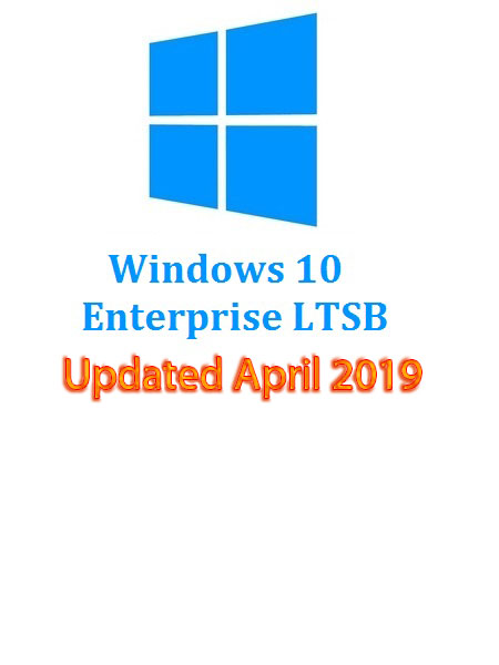 Windows 10 Enterprise + N LTSB 2016 En-US (x64) April 2019-Gen2