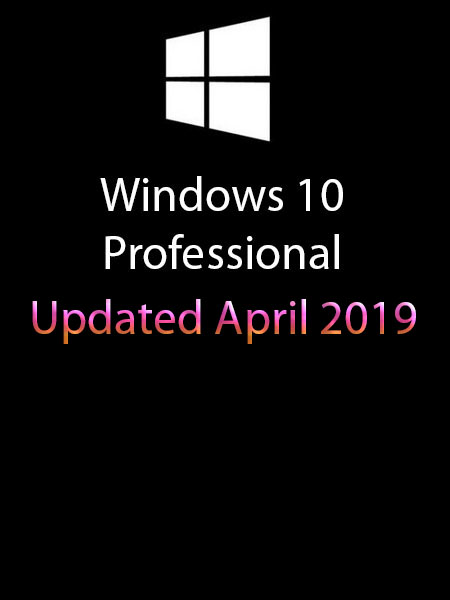 Windows 10 Pro Redstone 5 incl Office 2019 En-US (x64) April 2019-Gen2