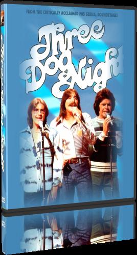 Three Dog Night - Soundstage 1975 (2015, DVD5)