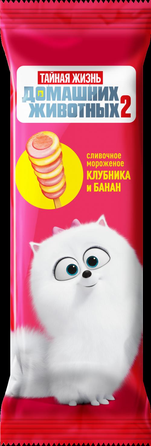 "Эскимо ""ТЖ"", Гиджет, винтов, сливоч, клубника-банан 60г *30 ""Сибхолод"