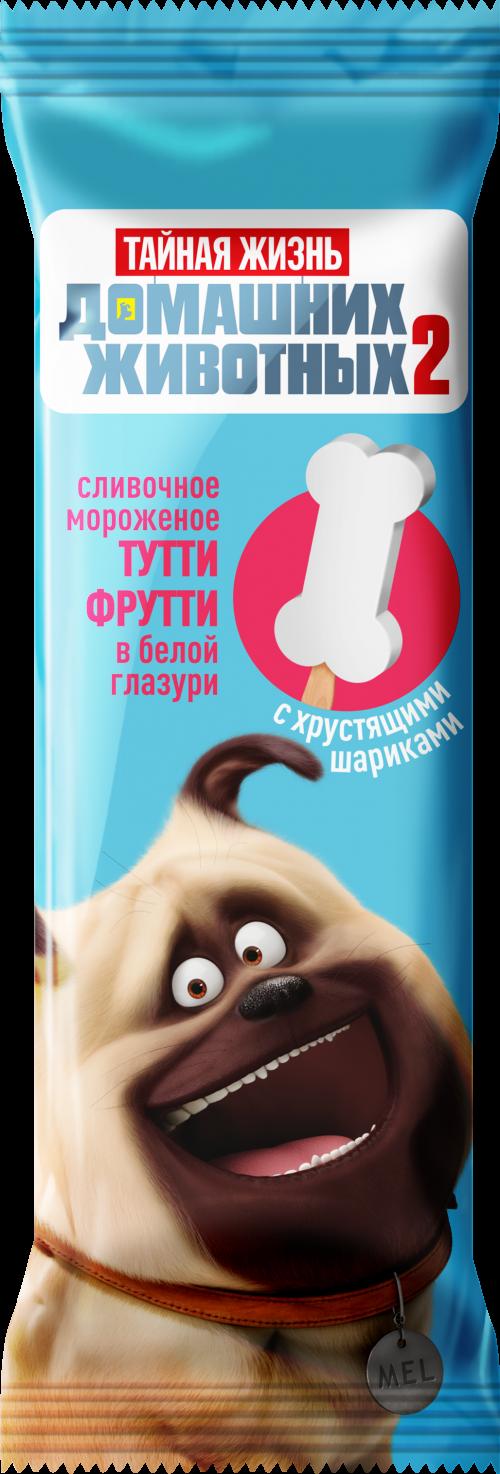 "Эскимо ""ТЖ"", Мэл, в белой гл. и с хруст.шар, слив, тутти фрутти, 60г *30 ""Сибхолод"
