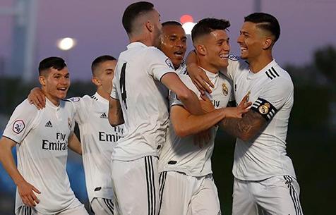 Real Madrid Castilla - Coruxo FC 3:0