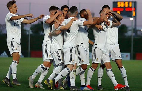 Club Rapido de Bouzas - Real Madrid Castilla 0:3