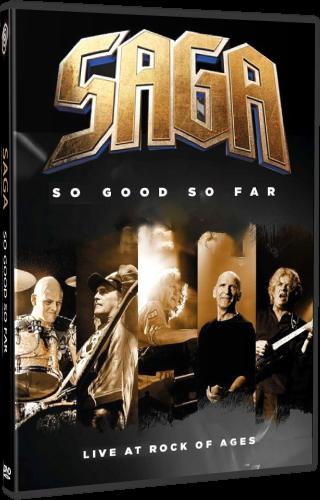 Saga - So Good So Far - Live at Rock of Ages (2018, DVD9)