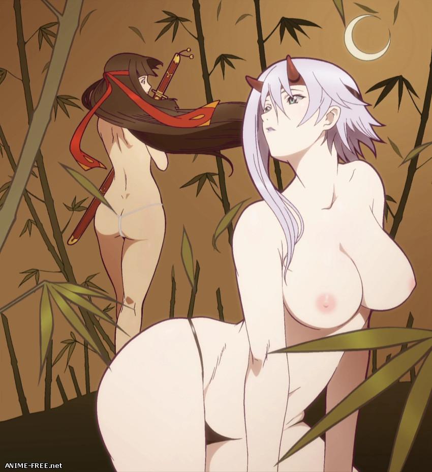 Queen's Blade: Rurou no Senshi / Клинок королевы: Странствующая воительница (Collection) - Сборник арта [Ptcen] [PNG,GIF,JPG] Hentai ART
