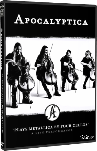 Apocalyptica - Plays Metallica by Four Cellos (2018, DVD9)