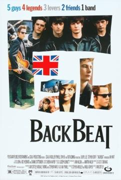 Битлз: Четыре плюс один / Бэкбит / Пятый в квартете / Backbeat (1994) BDRip 720p