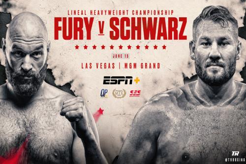 Бокс. Tyson Fury vs Tom Schwarz / Тайсон Фьюри – Том Шварц [15.06] (2019) IPTVRip 720р