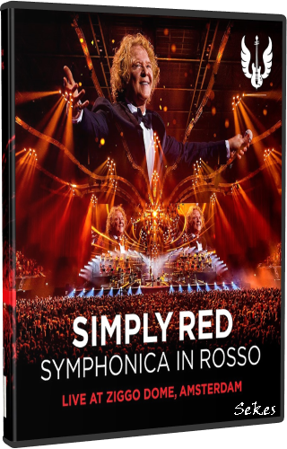 Simply Red ‎- Symphonica In Rosso (2018, DVD9)