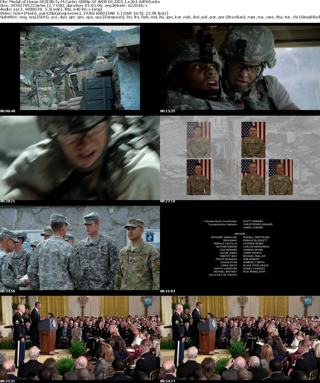 Medal of Honor S01 1080p NF WEB-DL DDP5 1 x264-AJP69