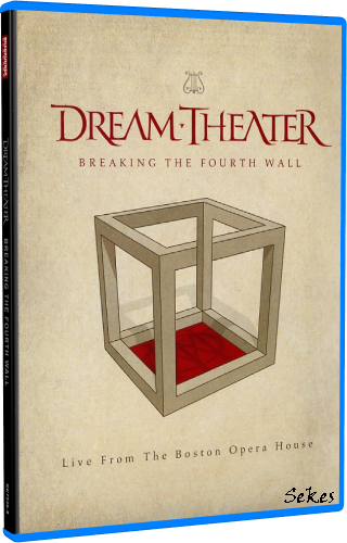 Dream Theater - Breaking The Fourth Wall (2014, Blu-ray)