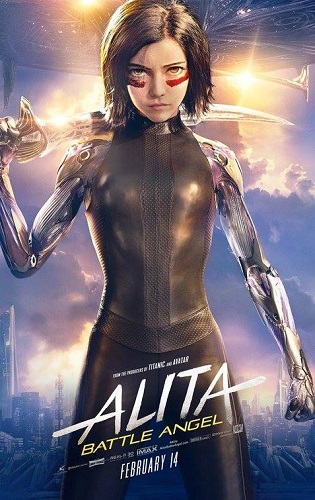 Alita Battle Angel 2019 1080p HDRip X264-EVO