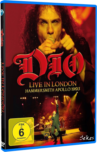 Dio - Live In London (Hammersmith Apollo 1993) (2014, Blu-Ray)