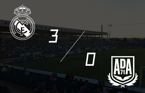 Real Madrid Castilla - AD Alcorcon 3:0