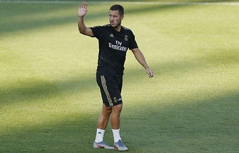 """В """"Мадриде"""" ожидают возвращение Азара в игре с """"Вильярреалом"""""""