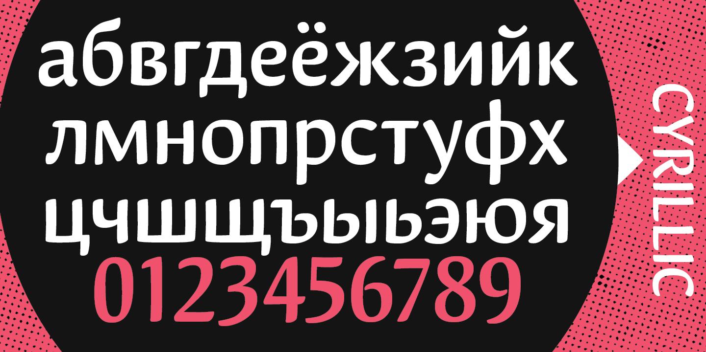 Шрифт Miffin
