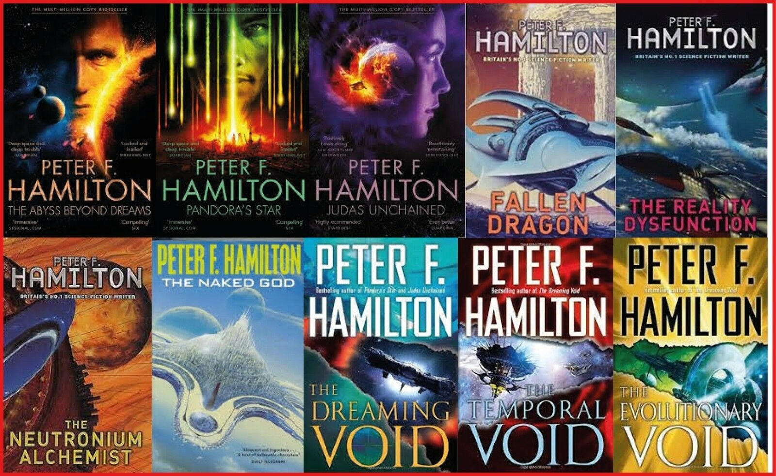 Peter F. Hamilton - Collection
