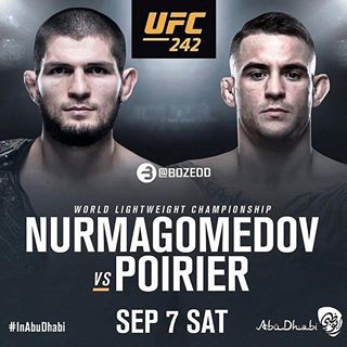 Смешанные единоборства. UFC 242: Khabib vs. Poirier [Первый HD] [07.09] (2019) IPTVRip