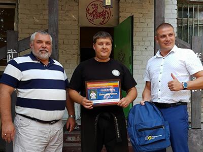 Олег Шухман — лучший спортсмен июля