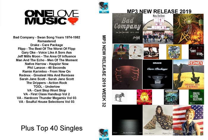 MP3 New Releases 2019 Week 32