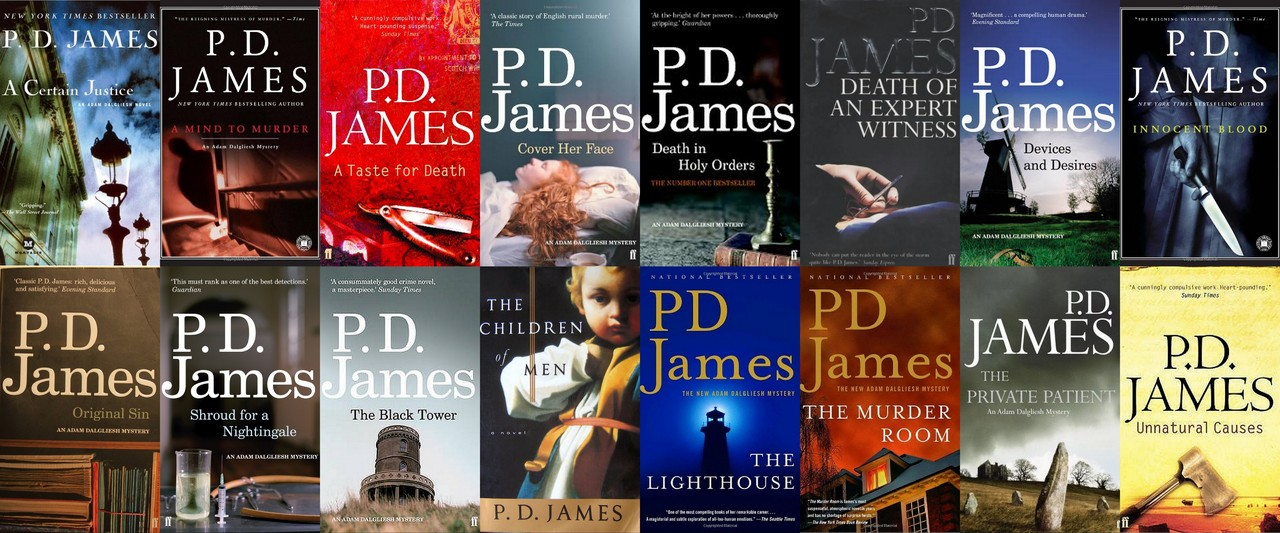 P.D. James - Collection