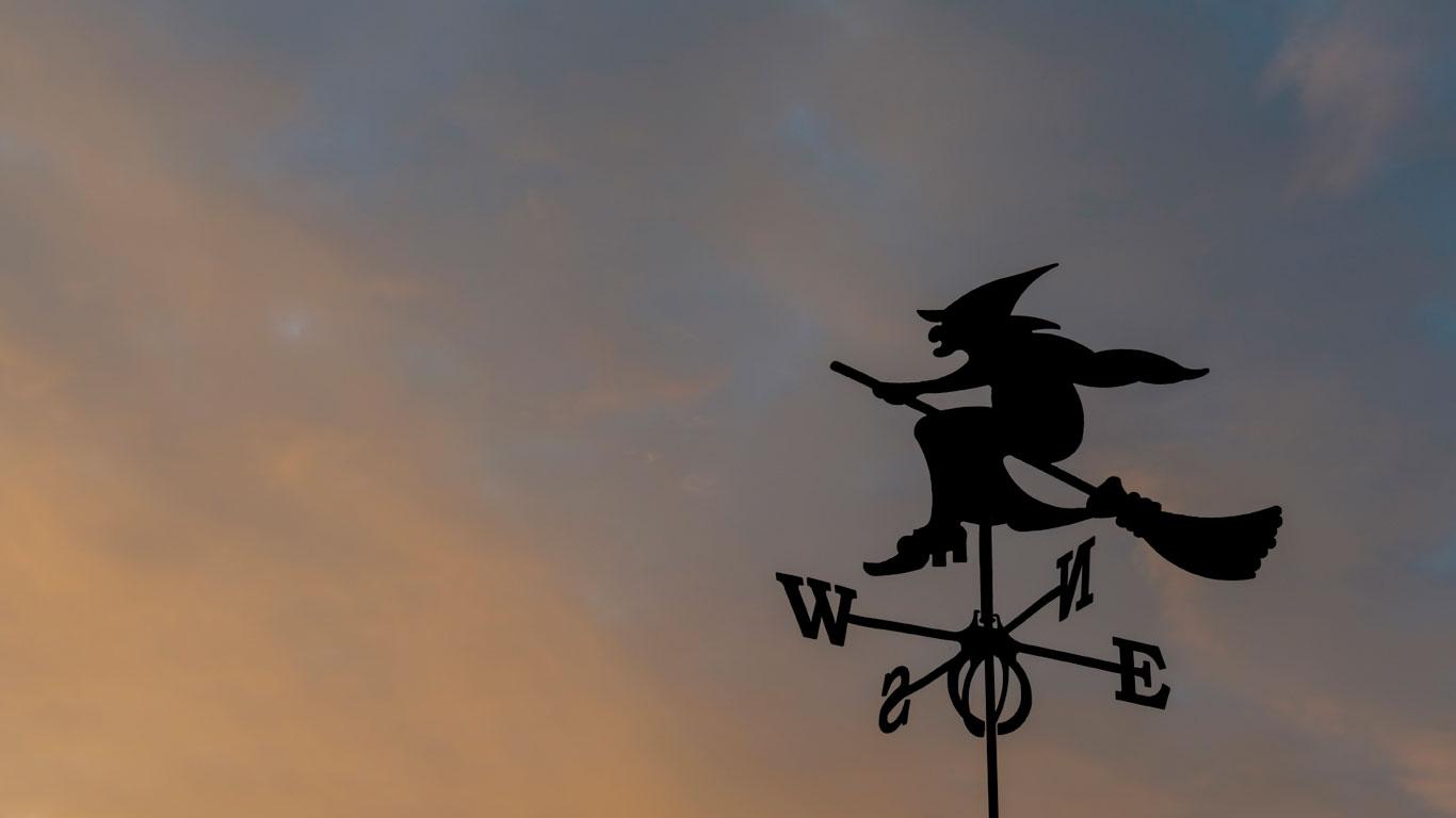 Флюгер-ведьма
