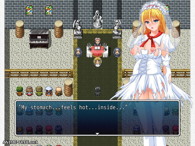 Virgin Road: The Chapel Bell Tolls on a Ruined Wedding Day [2019] [Cen] [jRPG] [ENG] H-Game