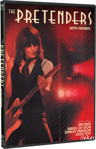 Pretenders - With Friends (2019, DVD9)