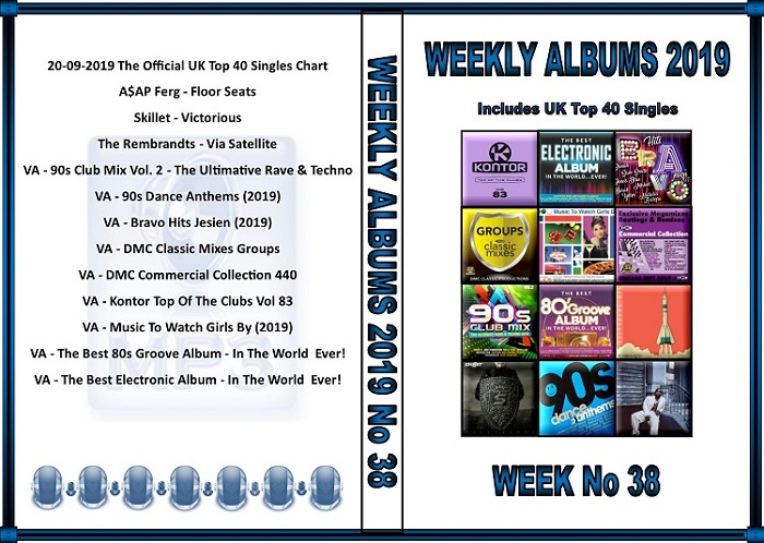 MP3 New Albums Week-38 (2019)