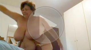 Трах старой толстой шлюхи на скрытую камеру / Fuck old fat whores on hidden cam (2019)