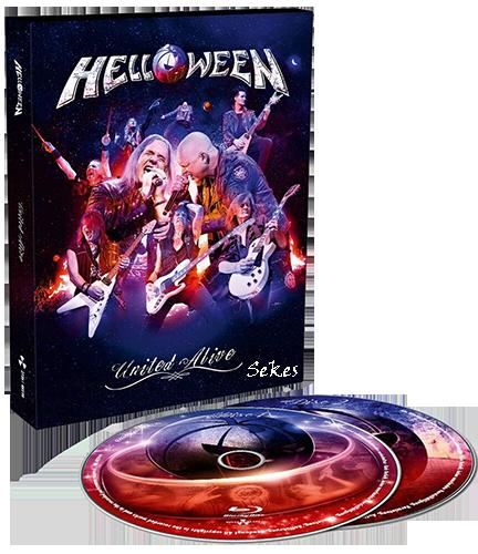 Helloween - United Alive (2019, 2xBlu-ray)
