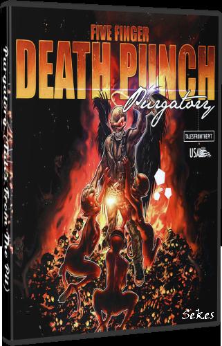 Five Finger Death Punch - Purgatory (2013, DVD5)