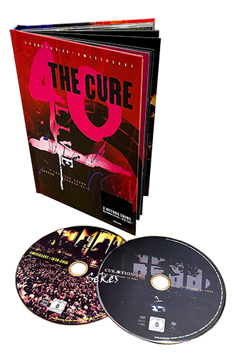 The Cure - 40 Live Curaetion 25 - Anniversary Boxset (2019, 2xBlu-ray)