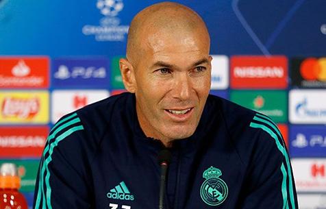 """Зидан: """"Я хочу быть в """"Мадриде"""" вечно"""""""