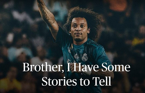 """Марсело: """"Брат, я хочу тебе кое-что рассказать"""""""