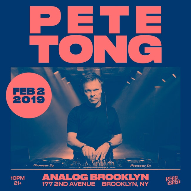 Pete Tong Radio 1 Shows - Feb 2019 - Oct 2019 (AAC 320KB/s)