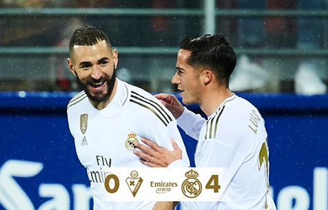 SD Eibar - Real Madrid C.F. 0:4