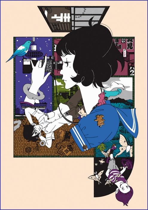 Сказ о четырёх с половиной татами / Yojouhan Shinwa Taikei / The Tatami Galaxy [TV+Special] [Без хардсаба] [11+3 из 11+3] [JAP+SUB] & [11+0 из 11+3] [RUS(ext)] [2010, детектив, комедия, психологическое, BDRip] [1080p]