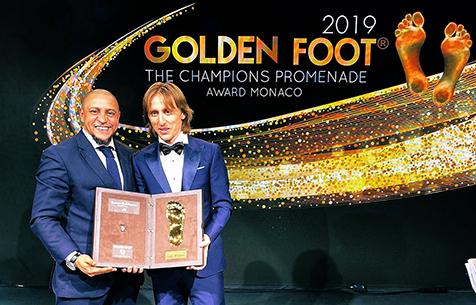 Лука Модрич стал обладателем Golden Foot 2019!