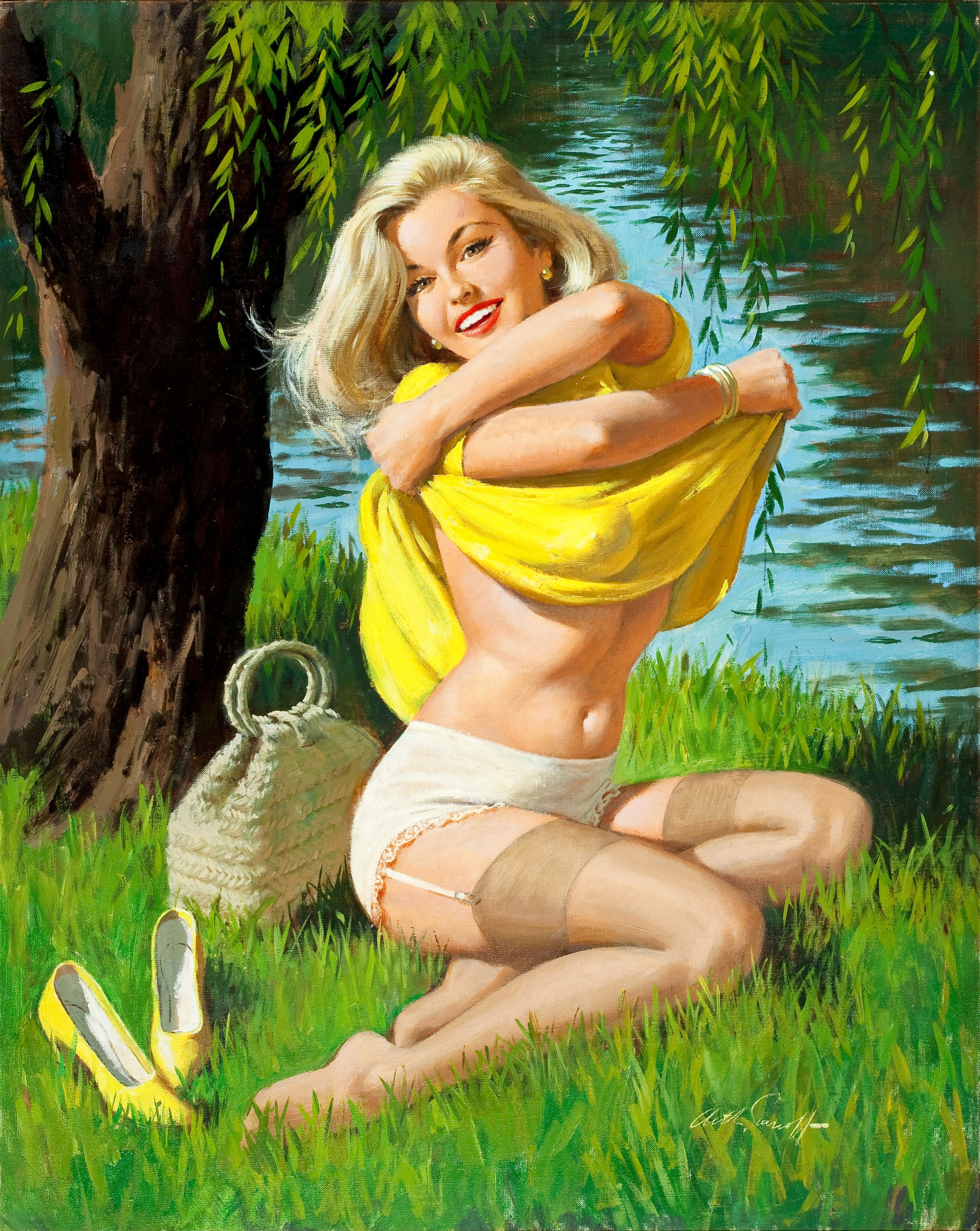 Pin-Up by the Lake, c. 1960.jpg