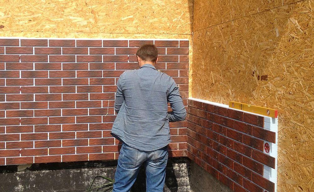 Как монтируют термопанели прямо на стену