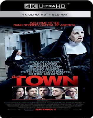 The Town (2010) .mkv BDRip 4K 2160p x265 HDR ITA AC3 ENG AC3 DTS DTS-HD MA Subs