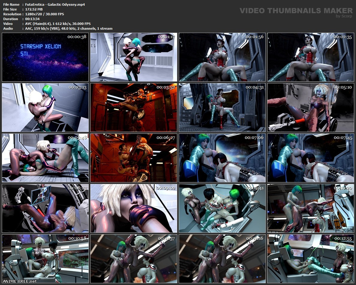 FutaErotica Animation (Collection 1) [2019] [Uncen] [HD-720p] [No-Text] 3D-Hentai